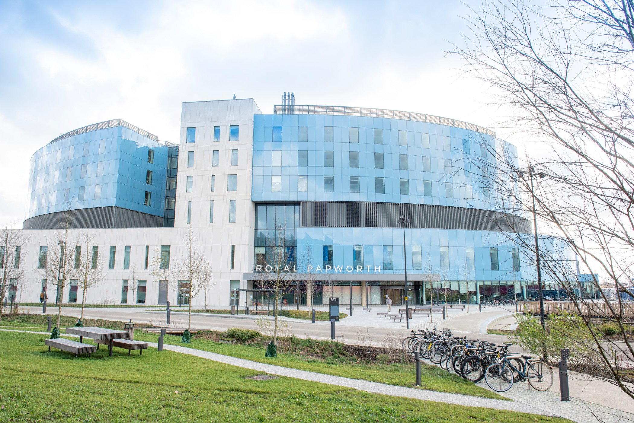 Royal_Papworth_Hospital_-_external_-_north_entrance